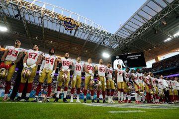 49ers chiefs super bowl football miami gardens usa shutterstock editorial 10546401bn