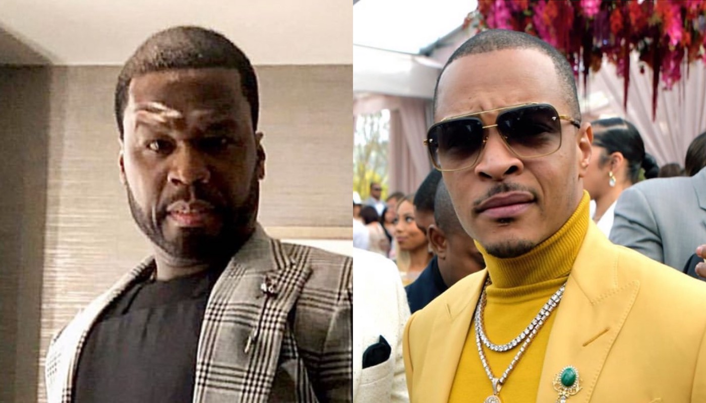 50 Cent Posts T.I.'s Crime Stoppers Clip in Response to VERZUZ Challenge