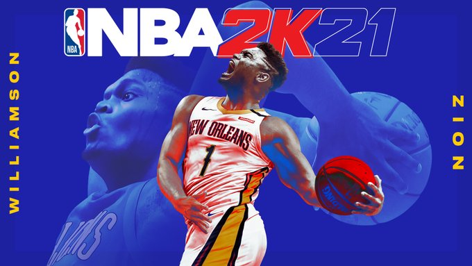 SOURCE SPORTS: Zion Williamson Revealed as Second Cover Star for NBA2K21
