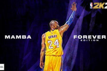 NBA 2K21 – Kobe Bryant Mamba Forever Edition Next-Gen Cover Horizontal