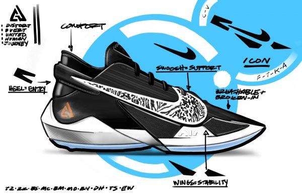 NikeNews GiannisAntetokounmpo ZoomFreak2 G2 SKETCH native 1600