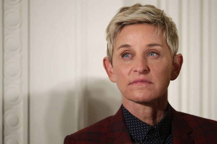 Over Two Dozen Former Workers Accuse Executives at 'The Ellen Degeneres Show' of Sexual Misconduct