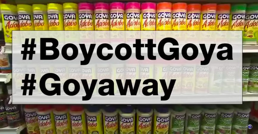 [WATCH] Goya Foods CEO Praises President Trump And Social Media Responds #BoycottGoya?
