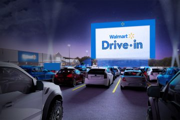 Walmart to Partner With Tribeca Enterprises to Transform Parking Lots to Drive In Movie Theaters
