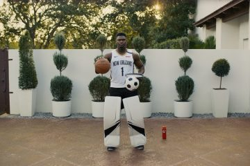 Zion Williamson Hockey Soccer and Basketball