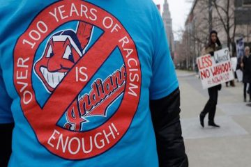 indians wahoo protest baseball cleveland usa shutterstock editorial 9569197e