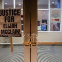 protest in aurora colorado for elijah mcclain aurora usa shutterstock editorial 10701474aw