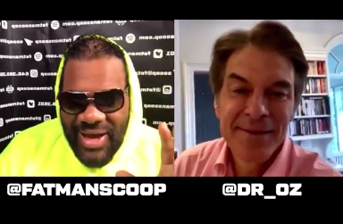 [WATCH] Dr. Oz Talks Coronavirus, Sex And Legalizing Marijuana On Fatman Scoop TV
