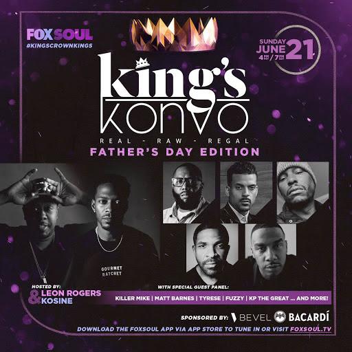 [WATCH] Tyrese and Killer Mike Talk Fatherhood On FOX Soul's 'King's Konvo'