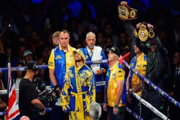 Vasiliy Lomachenko vs Luke Campbell, Boxing, O2 Arena, London, UK – 31 Aug 2019