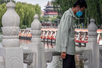 virus outbreak daily life beijing china shutterstock editorial 10695218a