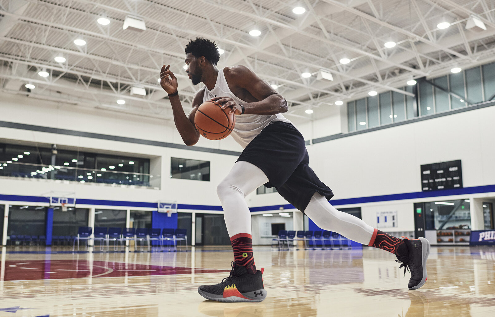 SOURCE SPORTS: Joel Embiid Reveals His First Signature Sneaker with Under Armour