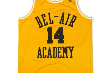BelAirAthletics BasketballJerseyGold Front