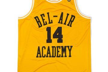 BelAirAthletics BasketballJerseyGold Front