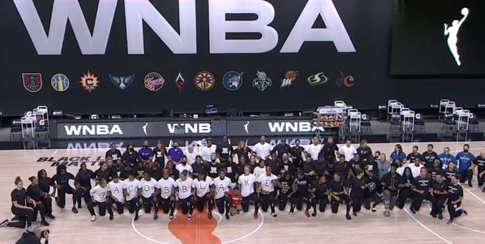 WNBA Has Been Front and Center Calling Out Social InJustice All Summer Long