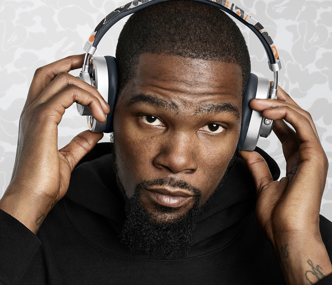 Kevin Durant Links With Master & Dynamic To Release BAPE Inspired Headphones