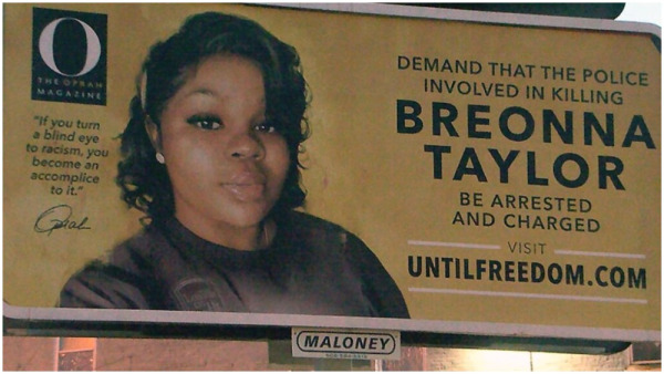 Oprah Gets Dozens of Billboards in Louisville Demanding Justice for Breonna Taylor