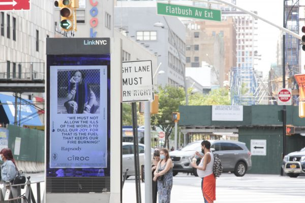 Rapsody joins CÎROC in spreading messages of resilience across America NYC
