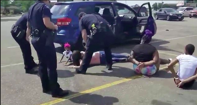 [WATCH] Colorado Police Detain Black Family and Handcuff Children in Stolen Car Mixup