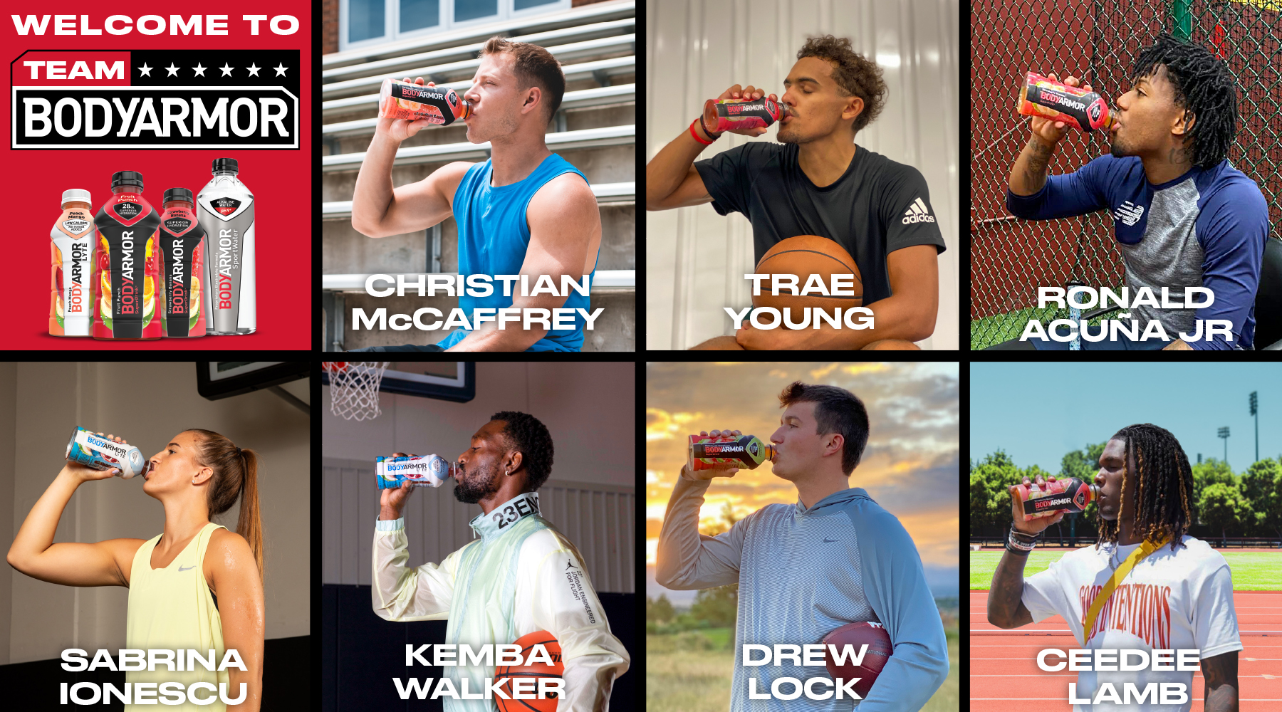 SOURCE SPORTS: BODYARMOR Adds Trae Young, Christian McCaffrey, Sabrina Ionescu and More as Athlete Partners