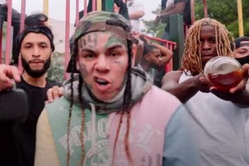 Tekashi 6ix9ine Shoots Music Video in Brooklyn Seemingly Dis Pop Smoke on Instagram Live