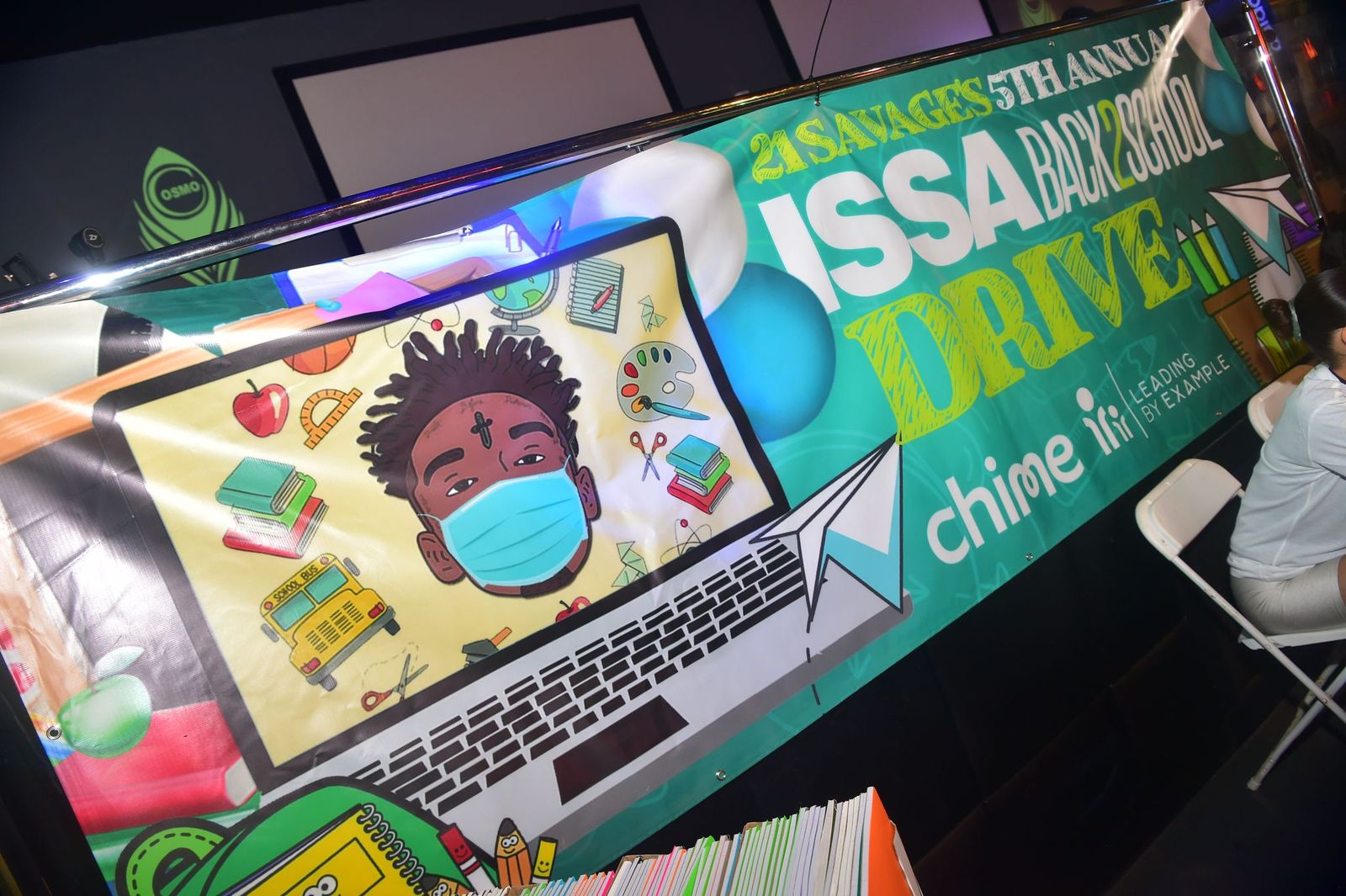 21 Savage Hosts COVID-19 Safe 5th Annual Issa Back to School Drive