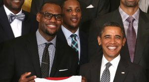 Barack Obama Congratulates LeBron James For Winning His 4th Chip