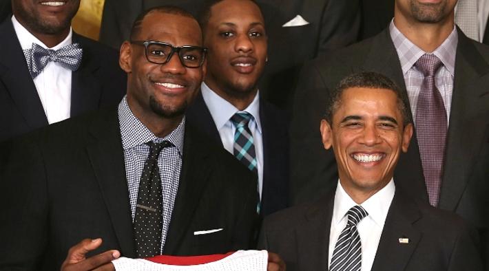 Barack Obama Congratulates LeBron James For Winning His 4th Chip