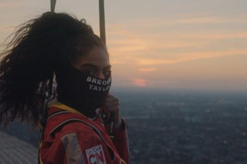 Jessie Reyez Performs American and Canadian National Anthems On Top of Toronto's CN Tower Before NBA Playoff Game