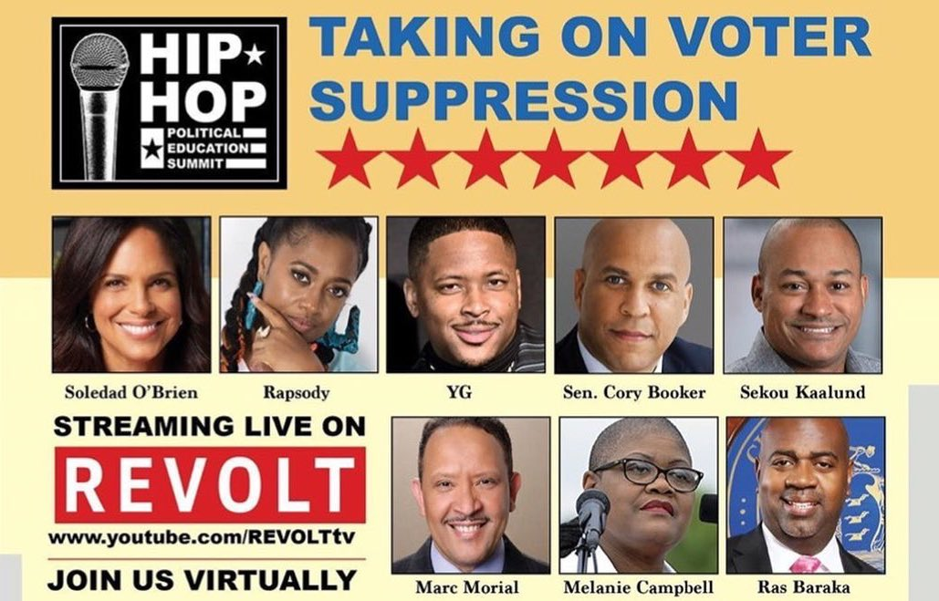 Hip-Hop Political Education Summit Set to Highlight Threats That Will Face Voters in November