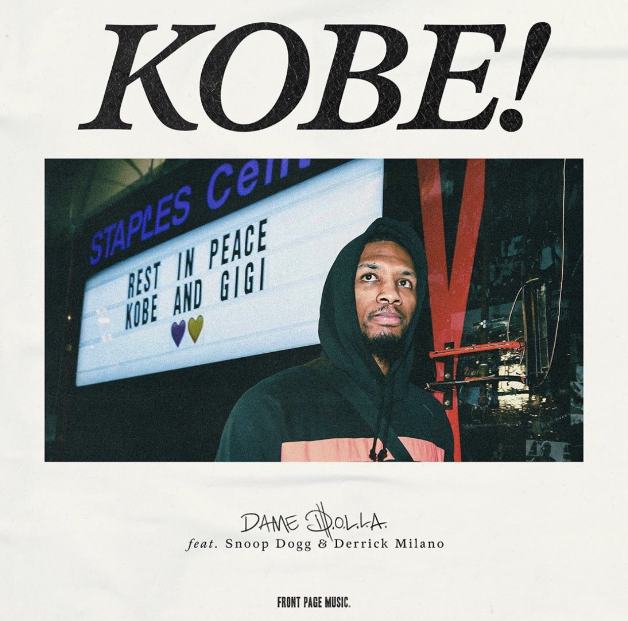 Snoop Dogg and Damian Lillard, A.K.A. Dame Dolla, Drop Kobe Bryant Tribute Track