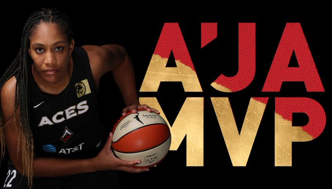 SOURCE SPORTS: A'ja Wilson Wins WNBA MVP Award in Just Her 3rd Year In the League