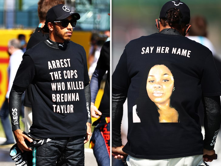 F1 to Reportedly Investigate Lewis Hamilton for Honoring Breonna Taylor