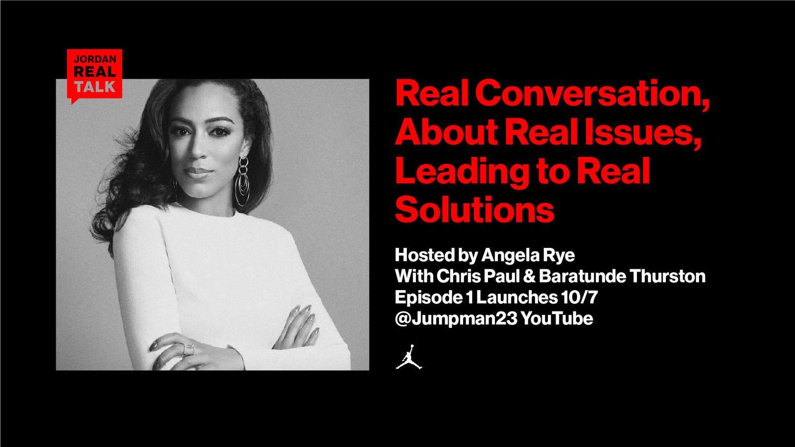 Angela Rye to Host Jordan Brand's 'REAL TALK' Series Dedicated to Social Issues