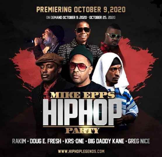 """Mike Epps Hip Hop Party"" With Performances By Rakim, Big Daddy Kane, KRS-One And More Coming Next Month"