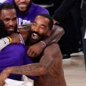 Twitter Goes Nuts When JR Smith Goes Shirtless During Lakers Championship Celebration