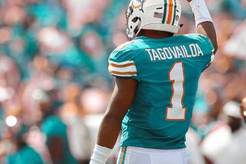 Dolphins Rolling With Rookie Tua Tagovalioa as the Starting Quarterback