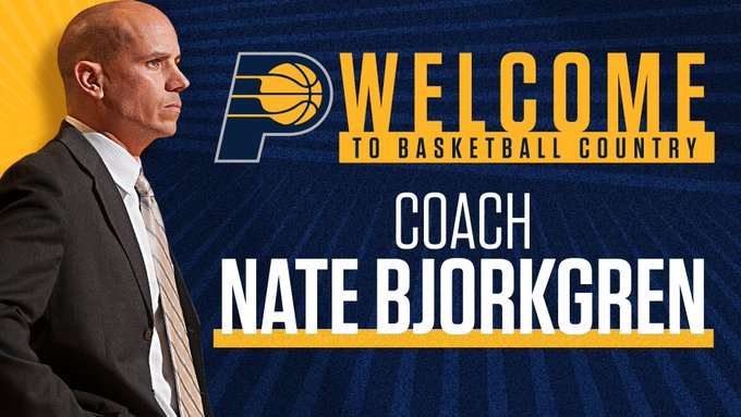SOURCE SPORTS: Indiana Pacers Names Nate Bjorkgren Their New Head Coach