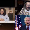 Joe Biden Makes a Surprise Appearance During Oprah's Town Hall
