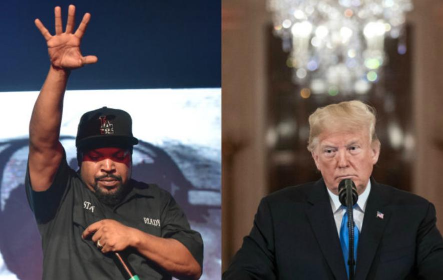2016 Ice Cube Tweet Saying He'd Never Endorse Donald Trump Resurfaces