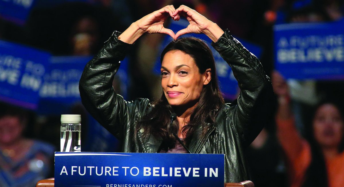 [WATCH] Actress Rosario Dawson Posts A Shocking Video Urging People to Vote This Election