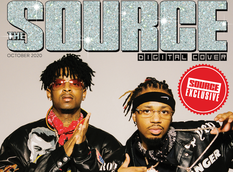 21 savage and metro boomin talk creating savage mode ii in the source digital cover story 21 savage and metro boomin talk