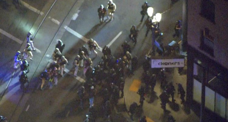 National Guard Called in as Riots Break Out in Portland Wednesday Evening