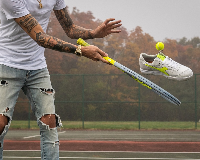 King Saladeen Links with Diadora for Philly Exclusive Sneaker Collection