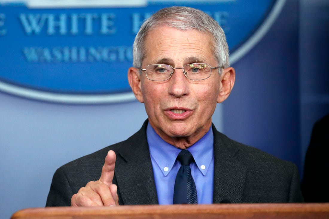 Dr. Fauci Predicts Live Entertainment to Return This Fall