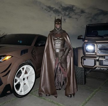 Travis Scott Deletes Instagram After Getting Roasted For Batman Costume