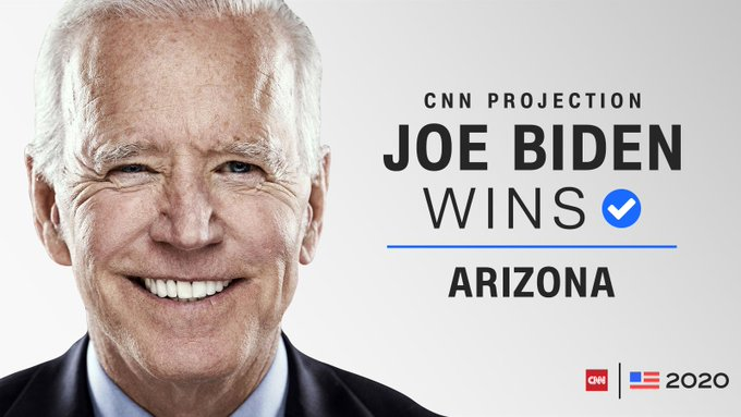 Biden Officially Wins Arizona Almost A Week After Being Declared President