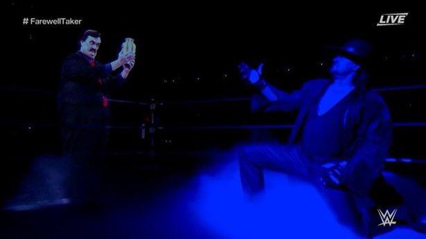 Undertaker Gives Emotional Farewell Speech to WWE