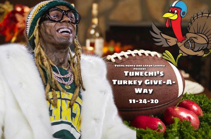 Lil Wayne Hosting Turkey Drive in New Orleans
