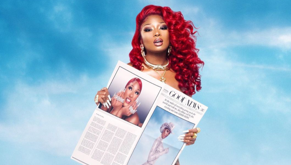 Megan Thee Stallion Salutes Her Fans After 'Good News' Goes Platinum